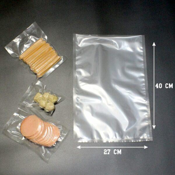 jual plastik vacuum food grade ukuran 27x40
