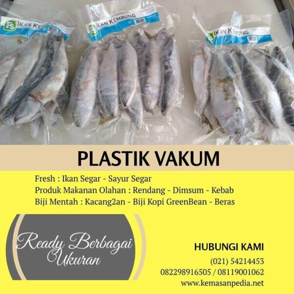kemasan plastik vacuum untuk ikan